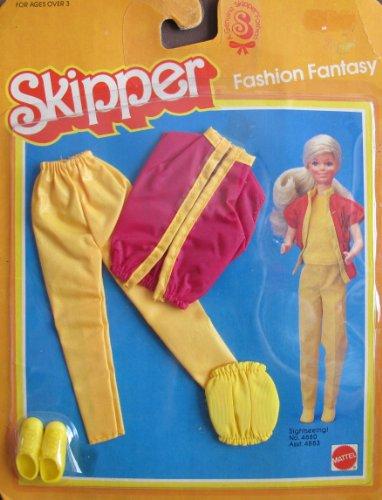 バービー バービー人形 チェルシー スキッパー ステイシー 4880 Skipper Barbie Fashion Fantasy SIGHTSEEING Outfit (1983 Mattel Hawthorne)バービー バービー人形 チェルシー スキッパー ステイシー 4880