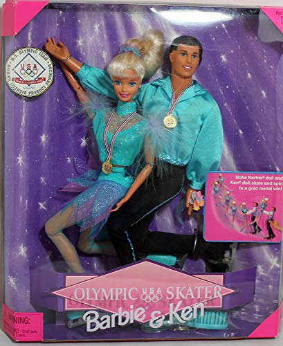 バービー バービー人形 ケン Ken 18726 【送料無料】Barbie & Ken Olympic Skater (1997)バービー バービー人形 ケン Ken 18726