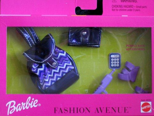 バービー バービー人形 着せ替え 衣装 ドレス Asst. 25751 Barbie Fashion Avenue: Purple Rave Accessories (1999)バービー バービー人形 着せ替え 衣装 ドレス Asst. 25751