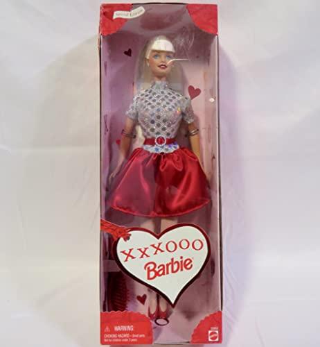 バービー バービー人形 日本未発売 23952-Valentine 【送料無料】Mattel Barbie 1999 Valentine Special Edition 12 Inch Doll - XXXOOO Barbie Doll with Glamour Dress, Shoes and Hairbrushバービー バービー人形 日本未発売 23952-Valentine