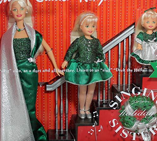 バービー バービー人形 チェルシー スキッパー ステイシー 26260 Barbie Holiday Singing Sisters Stacie Kelly Dolls Sing Deck The Halls (2000)バービー バービー人形 チェルシー スキッパー ステイシー 26260