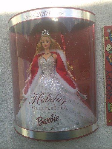 ●日本正規品● バービー バービー人形 日本未発売 ホリデーバービー 50304 日本未発売 Barbie Special Holiday Celebration - 2001バービー Special Edition Doll 2001バービー バービー人形 日本未発売 ホリデーバービー 50304, セレブブランドバッグ「sunami」:111b484a --- wktrebaseleghe.com