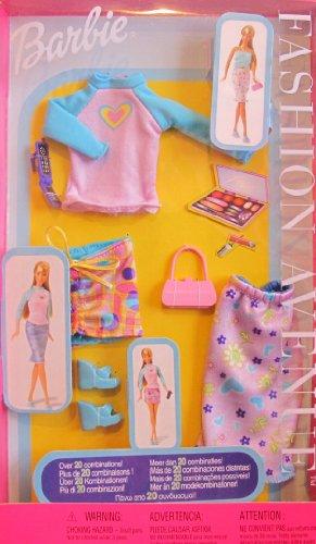 バービー バービー人形 着せ替え 衣装 ドレス 52976 Barbie Fashion Avenue Fashions Clothes 1+2+3 Over 20 Combinations! (2002)バービー バービー人形 着せ替え 衣装 ドレス 52976