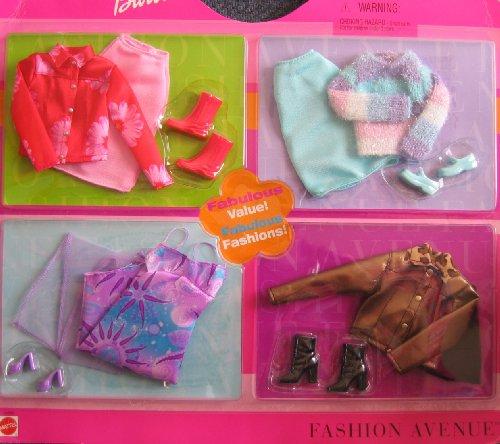 バービー バービー人形 着せ替え 衣装 ドレス 65388 Barbie Sensational Styles Fashion Avenue Clothes - Fabulous Value! Fabulous Fashions! (2002)バービー バービー人形 着せ替え 衣装 ドレス 65388