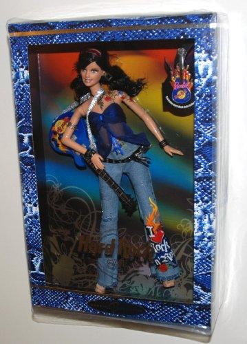 バービー バービー人形 バービーコレクター コレクタブルバービー プラチナレーベル 2005 Barbie Collector Silver Label, Hard Rock Barbie Doll with Guitar and Exclusive HRC Collバービー バービー人形 バービーコレクター コレクタブルバービー プラチナレーベル