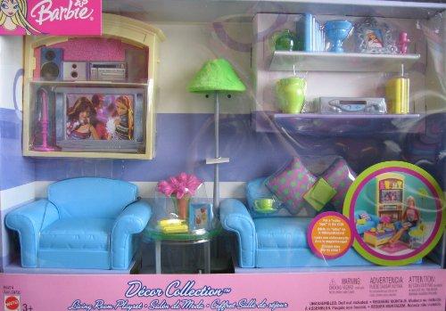 バービー バービー人形 日本未発売 プレイセット アクセサリ B6274, Asst. C4725 Barbie Decor Collection Living Room Playset - Multi-Lingual Box (2003)バービー バービー人形 日本未発売 プレイセット アクセサリ B6274, Asst. C4725
