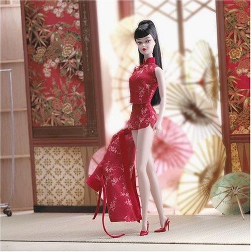 バービー バービー人形 コレクション ファッションモデル ハリウッドムービースター B3431 Silkstone Barbie Chinoiserie Red Moon (2004)バービー バービー人形 コレクション ファッションモデル ハリウッドムービースター B3431