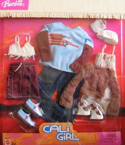 バービー バービー人形 着せ替え 衣装 ドレス C7209, Asst. C7207 Barbie Cali Girl Ken & Barbie Fashion Clothes (2004)バービー バービー人形 着せ替え 衣装 ドレス C7209, Asst. C7207