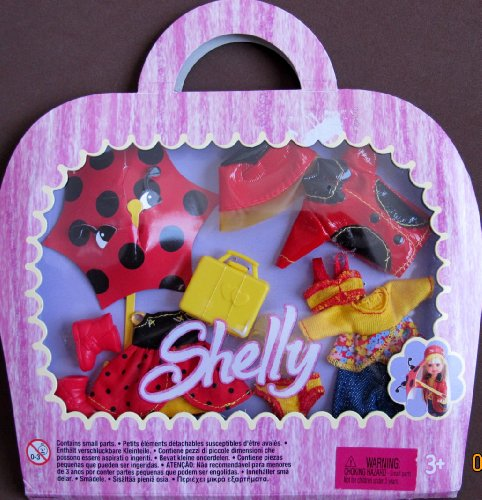 暮らし健康ネット館 バービー バービー人形 Shelly 着せ替え 衣装 ドレス バービー人形 ドレス Asst. G8043, G8047 Barbie Shelly (Kelly)