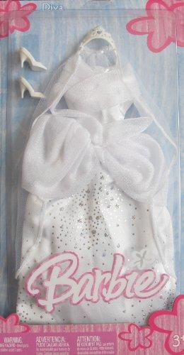 バービー バービー人形 着せ替え 衣装 ドレス BARBIE Diva WEDDING FASHIONS Bride BRIDAL OUTFIT w Fabulous GLITTERY GOWN (2005)バービー バービー人形 着せ替え 衣装 ドレス