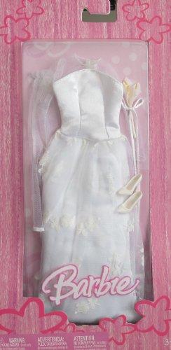 バービー バービー人形 着せ替え 衣装 ドレス Barbie 'WEDDING' Fashions BRIDE Bridal GOWN OUTFIT (2005)バービー バービー人形 着せ替え 衣装 ドレス