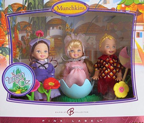 バービー バービー人形 チェルシー スキッパー ステイシー BARBIE Wizard of Oz MUNCHKINS KELLY & TOMMY Collector DOLLS w 3 MUNCHKIN (Lollipop TOMMY, BALLERINA & GIRL Villager) DOLLS & More (2006)バービー バービー人形 チェルシー スキッパー ステイシー