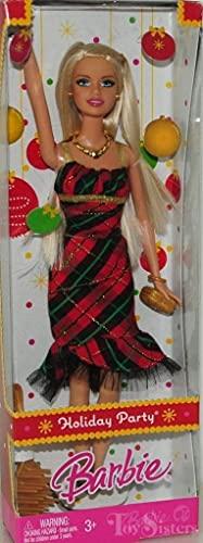 バービー バービー人形 日本未発売 【送料無料】Barbie 2008 Holiday Party Barbie Dollバービー バービー人形 日本未発売