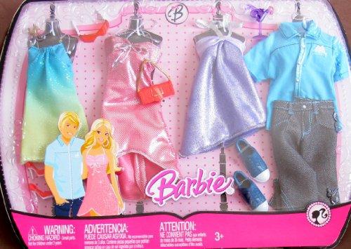 バービー バービー人形 着せ替え 衣装 ドレス 【送料無料】BARBIE & KEN Shimmery FASHIONS Clothes w COCKTAIL DRESSES & More! (2008)バービー バービー人形 着せ替え 衣装 ドレス