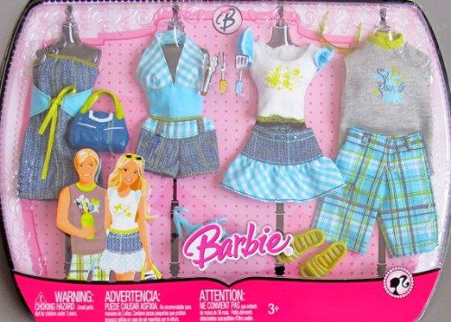 バービー バービー人形 着せ替え 衣装 ドレス 【送料無料】BARBIE & KEN Matching CASUAL FASHIONS Clothes For OUTDOOR & BBQ Fun! (2008)バービー バービー人形 着せ替え 衣装 ドレス