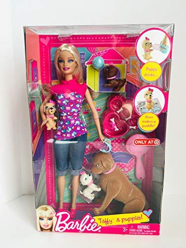 バービー バービー人形 V3262 【送料無料】Standard BARBIE taffy & Puppies - 2010 version - New in package [Toy]バービー バービー人形 V3262