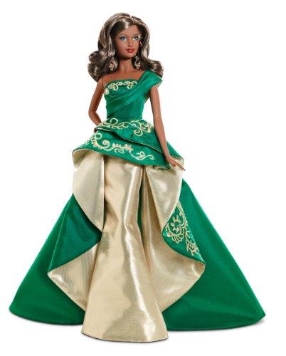 バービー バービー人形 日本未発売 ホリデーバービー T7915 Barbie Collector 2011 Holiday African-American Dollバービー バービー人形 日本未発売 ホリデーバービー T7915