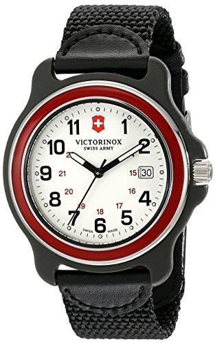 ビクトリノックス スイス 腕時計 メンズ 249085 Victorinox Men's 249085 Original XL Swiss Quartz Watch With Black Nylon Bandビクトリノックス スイス 腕時計 メンズ 249085
