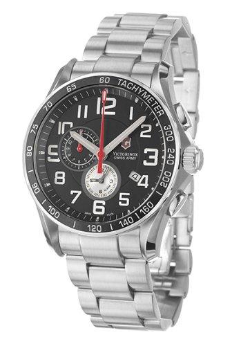 ビクトリノックス スイス 腕時計 メンズ 241280 【送料無料】Victorinox Swiss Army Men's 241280 Classic XLS Alarm Chronograph Black Dial Watchビクトリノックス スイス 腕時計 メンズ 241280
