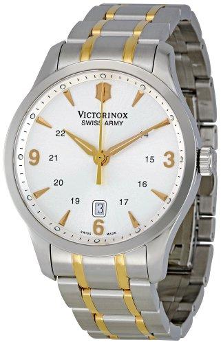 ビクトリノックス スイス 腕時計 メンズ 241477 【送料無料】Victorinox Swiss Army Men's 241477 Silver Dial Watchビクトリノックス スイス 腕時計 メンズ 241477