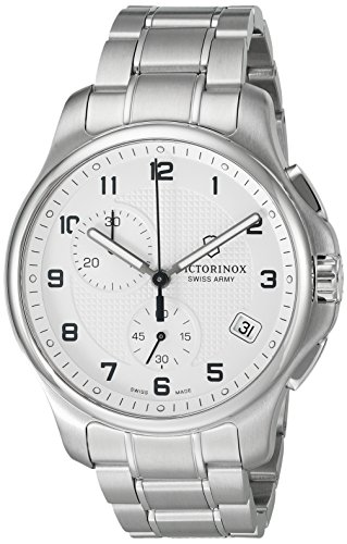 ビクトリノックス スイス 腕時計 メンズ 241554 【送料無料】Victorinox Men's 'Officer's' Swiss Quartz Stainless Steel Casual Watch (Model: 241554)ビクトリノックス スイス 腕時計 メンズ 241554