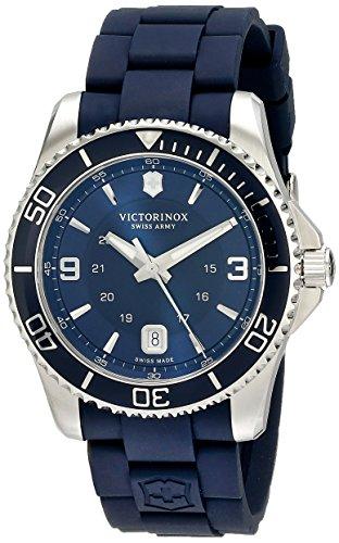 Black腕時計 Maverick Watch, Swiss メンズ Stainless ビクトリノックス 【送料無料】Victorinox 43mm, Steel スイス 腕時計 スイス ビクトリノックス 241603 Army メンズ 241603