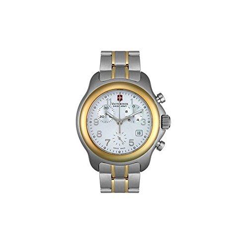 ビクトリノックス スイス 腕時計 メンズ 241215 【送料無料】Swiss Army Men's Officer's 1884 Chronograph Two Tone Watchビクトリノックス スイス 腕時計 メンズ 241215
