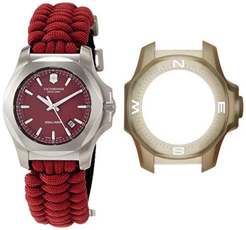ビクトリノックス スイス 腕時計 メンズ 241744 Victorinox I.N.O.X. Paracord Red Dial Mens Watch 241744ビクトリノックス スイス 腕時計 メンズ 241744
