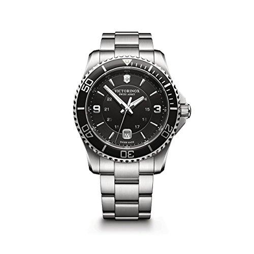 腕時計 ビクトリノックス スイス メンズ 241697 【送料無料】Victorinox Maverick Stainless Steel Watch, 43mm腕時計 ビクトリノックス スイス メンズ 241697