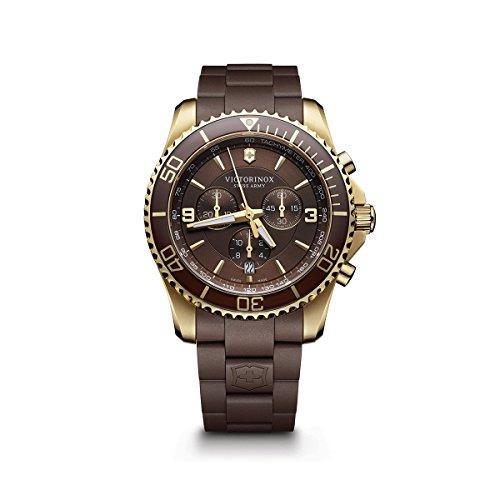 ビクトリノックス スイス 腕時計 メンズ 241692 Victorinox Men's 241692 Maverick Chrono Analog Display Swiss Quartz Brown Watchビクトリノックス スイス 腕時計 メンズ 241692
