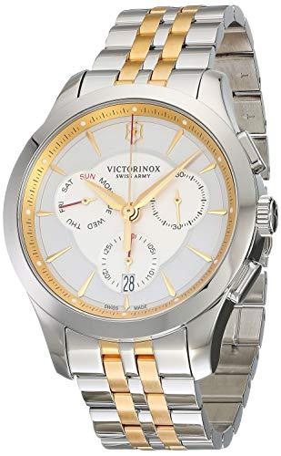 ビクトリノックス スイス 腕時計 メンズ 241747 Victorinox Men's Alliance Swiss-Quartz Watch with Two-Tone-Stainless-Steel Strap, 21 (Model: 241747ビクトリノックス スイス 腕時計 メンズ 241747