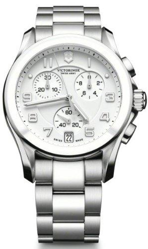 腕時計 ビクトリノックス スイス メンズ V241538 【送料無料】Victorinox Chrono Classic Mens Analog Quartz Watch with Stainless Steel Bracelet V241538腕時計 ビクトリノックス スイス メンズ V241538
