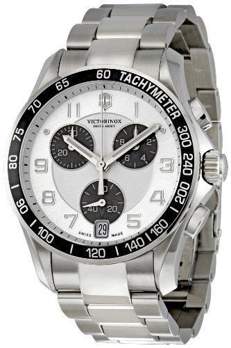 ビクトリノックス スイス 腕時計 メンズ 241495 【送料無料】Victorinox Swiss Army Chrono Classic Silver Dial Mens Watch 241495ビクトリノックス スイス 腕時計 メンズ 241495