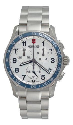 ビクトリノックス スイス 腕時計 メンズ 241121 【送料無料】Victorinox Swiss Army Men's 241121 Chrono Classic Silver Dial Watchビクトリノックス スイス 腕時計 メンズ 241121