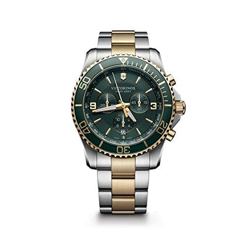 腕時計 ビクトリノックス スイス メンズ 241693 【送料無料】Victorinox Swiss Army Maverick Rubber Watch, 43mm, Black腕時計 ビクトリノックス スイス メンズ 241693