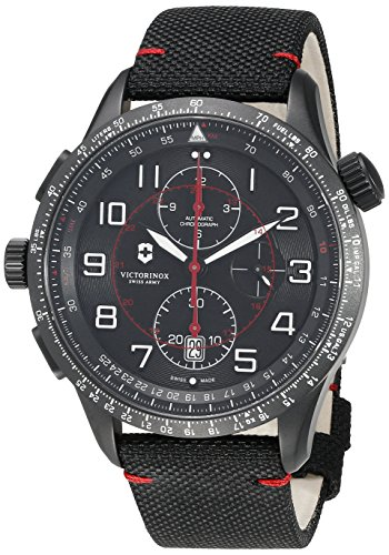 ビクトリノックス スイス 腕時計 メンズ 241716 【送料無料】Victorinox 241716 AirBoss Mach 9 Black Edition Hodinky Analog Swiss Automatic Watchビクトリノックス スイス 腕時計 メンズ 241716