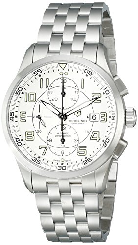 ビクトリノックス スイス 腕時計 メンズ 241621 【送料無料】Victorinox Men's 241621 AirBoss Analog Display Swiss Automatic Silver Watchビクトリノックス スイス 腕時計 メンズ 241621
