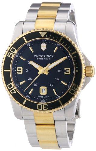 ビクトリノックス スイス 腕時計 メンズ 241605 【送料無料】Victorinox Swiss Army Men's Quartz Watch Analogue Display and Stainless Steel Strap 241605ビクトリノックス スイス 腕時計 メンズ 241605