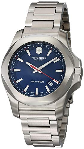 ビクトリノックス スイス 腕時計 メンズ I.N.O.X. 【送料無料】Victorinox Swiss Army Men's Quartz Watch with i.n.o.x. Analogue Quartz Stainless Steel 241724.1ビクトリノックス スイス 腕時計 メンズ I.N.O.X.