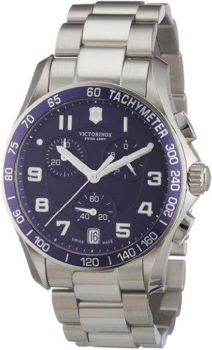ビクトリノックス スイス 腕時計 メンズ 241497 【送料無料】Victorinox Swiss Army Men's 241497 Chrono Classic Blue Chronograph Dial Watchビクトリノックス スイス 腕時計 メンズ 241497