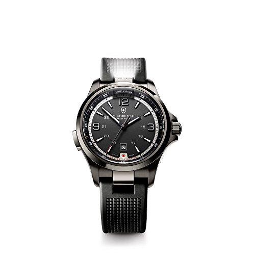 ビクトリノックス スイス 腕時計 メンズ 241596 【送料無料】Victorinox Men's 241596 Night Vision Black Stainless Steel Watchビクトリノックス スイス 腕時計 メンズ 241596