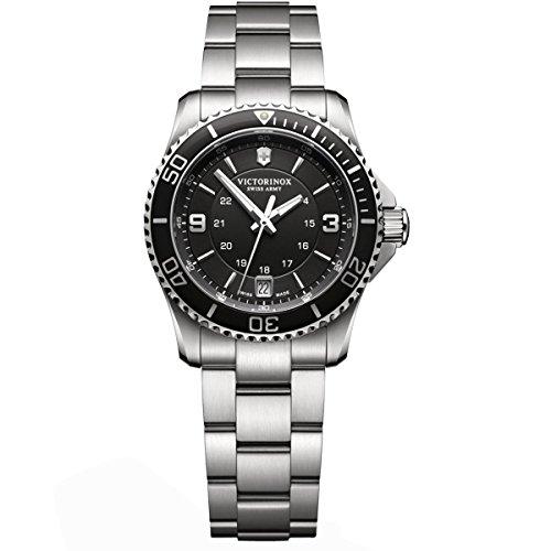 ビクトリノックス スイス 腕時計 レディース,ウィメンズ Maverick 【送料無料】Victorinox Women's Quartz Watch with Maverick Analogue Quartz Stainless Steel 241701ビクトリノックス スイス 腕時計 レディース,ウィメンズ Maverick