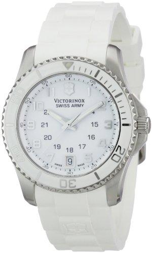 ビクトリノックス スイス 腕時計 レディース,ウィメンズ 241492 Victorinox Swiss Army Women's 241492 Maverick white Dial Watchビクトリノックス スイス 腕時計 レディース,ウィメンズ 241492
