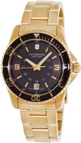 ビクトリノックス スイス 腕時計 レディース,ウィメンズ 241614 Victorinox Women's 241614 Maverick Analog Display Swiss Quartz Gold Watchビクトリノックス スイス 腕時計 レディース,ウィメンズ 241614