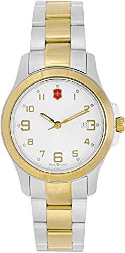 ビクトリノックス スイス 腕時計 レディース,ウィメンズ Victorinox Garrison Elegance Silver Dial Stainless Steel Ladies Watch 26062CBビクトリノックス スイス 腕時計 レディース,ウィメンズ