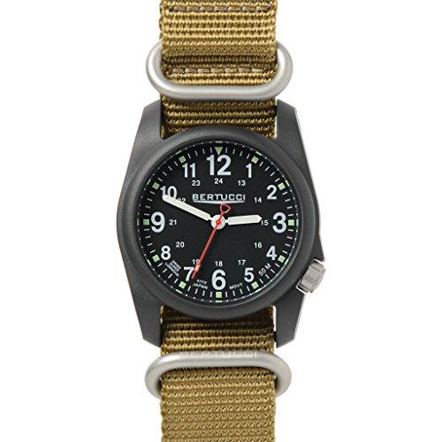 ベルトゥッチ 逆輸入 海外モデル 海外限定 アメリカ直輸入 Bertucci DX3 NATO Watch Black - NATO Khaki Nylonベルトゥッチ 逆輸入 海外モデル 海外限定 アメリカ直輸入