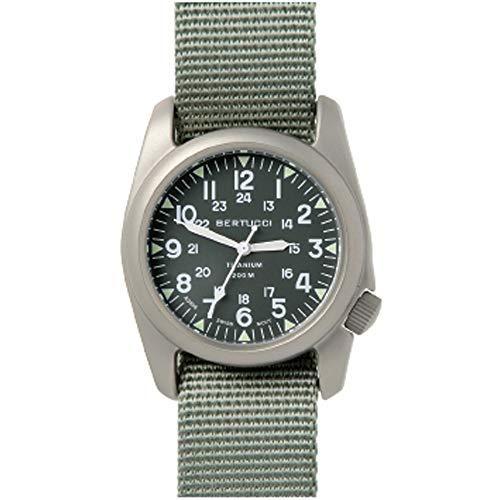 腕時計 ベルトゥッチ メンズ 逆輸入 海外モデル 12030 【送料無料】Bertucci A-2T Vintage Titanium Green Dial Men's watch #12030腕時計 ベルトゥッチ メンズ 逆輸入 海外モデル 12030