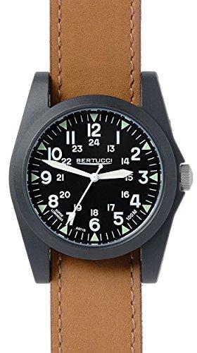 ベルトゥッチ 逆輸入 海外モデル 海外限定 アメリカ直輸入 13363 Bertucci 13363 Black / Tan Leather Analog Quartz Unisex Watchベルトゥッチ 逆輸入 海外モデル 海外限定 アメリカ直輸入 13363
