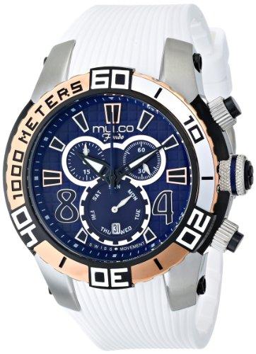 マルコ 腕時計 メンズ MW1-74197-014 MULCO Unisex MW1-74197-014 Analog Display Swiss Quartz White Watchマルコ 腕時計 メンズ MW1-74197-014