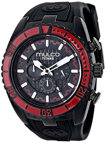 マルコ 腕時計 メンズ MW5-1836-065 【送料無料】MULCO Unisex MW5-1836-065 Titan Wave Analog Display Japanese Quartz Black Watchマルコ 腕時計 メンズ MW5-1836-065